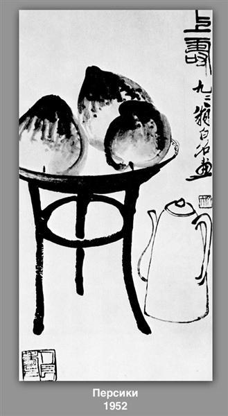 Peaches, 1952 - Qi Baishi