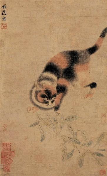 狸猫图 - Цянь Сюань