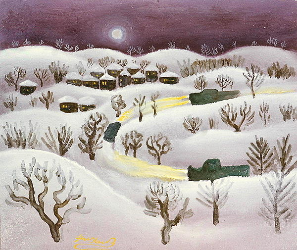 Winter Night, 1971 - Radi Nedelchev