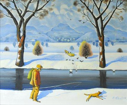 Winters Walk, 2005 - Radi Nedelchev