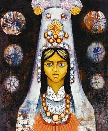 Woman's Head, 1968 - Radi Nedelchev