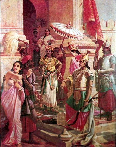 Victory of Meghanada, 1905 - Раджа Раві Варма