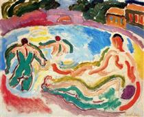 Bathers - Raoul Dufy