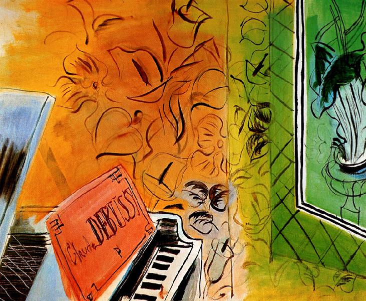 Homage to Claude Debussy, 1952 - Raoul Dufy