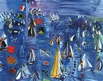 Regatta at Cowes - Raoul Dufy