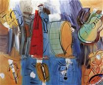 The Mexican Musicians - Raoul Dufy