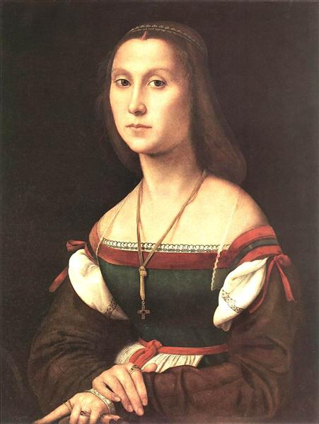 Portrait of a Woman (La Muta), 1507 - Raphael