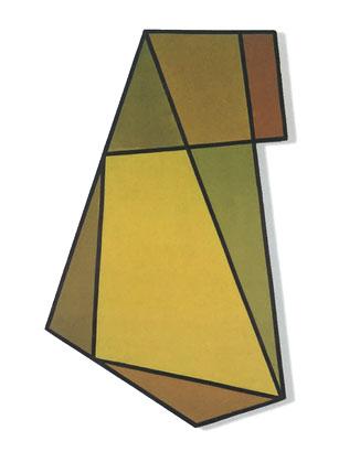 Pintura n° 82 o Estructura amarilla, 1946 - Raul Lozza