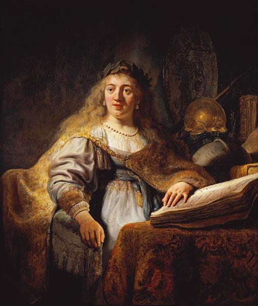 Minerva, 1635 - Rembrandt