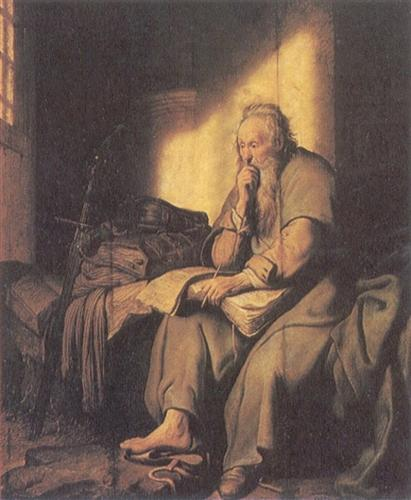 St. Paul in Prison - Rembrandt
