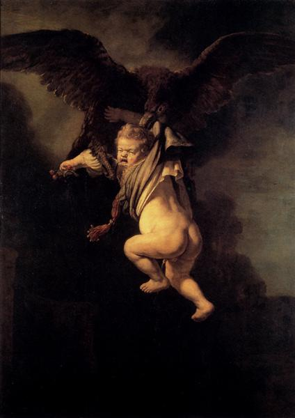 The Abduction of Ganymede, 1635 - Rembrandt