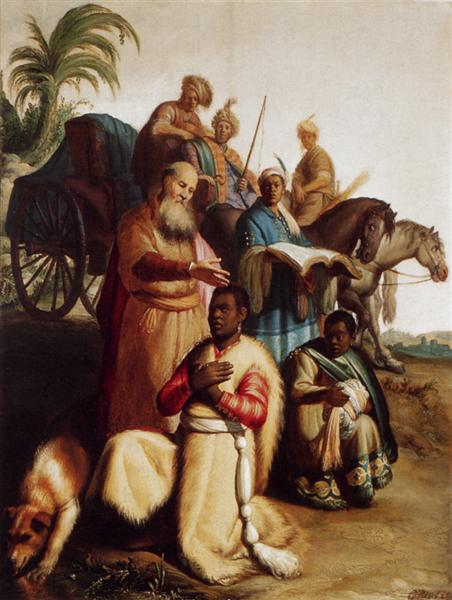 The Baptism Of The Eunuch, 1626 - Rembrandt