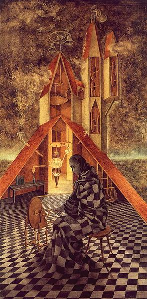 Alchemy or the Useless Science, 1958 - Remedios Varo