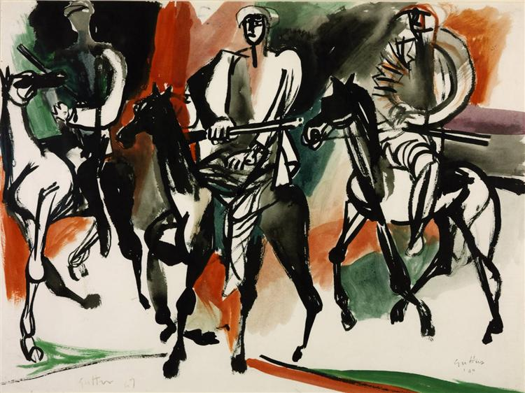 Campieri, 1949 - Ренато Гуттузо