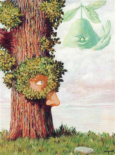 Alice in Wonderland - Rene Magritte