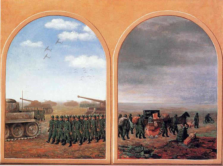 Applied dialectics, 1945 - René Magritte