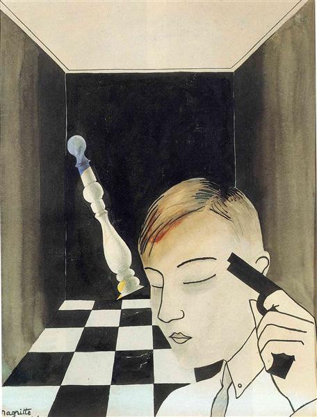 Checkmate, 1926 - Рене Магритт