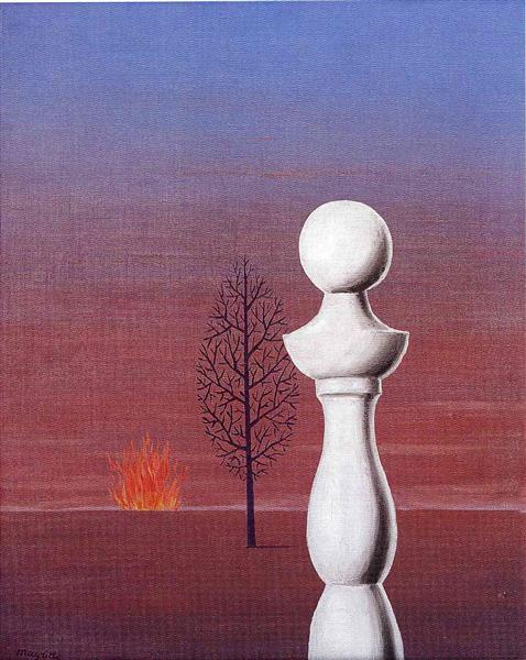 Fashionable people, 1950 - Rene Magritte