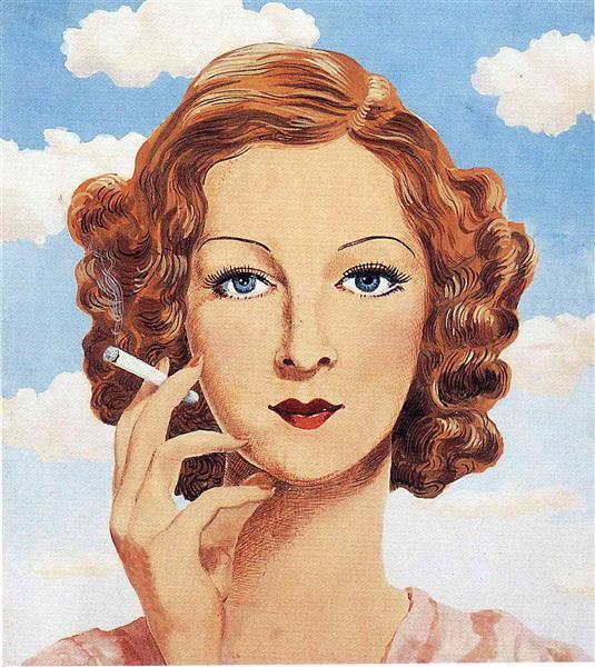 Georgette Magritte, 1934 - Rene Magritte