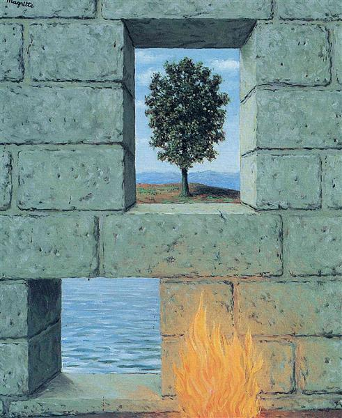 Mental complacency, 1950 - René Magritte