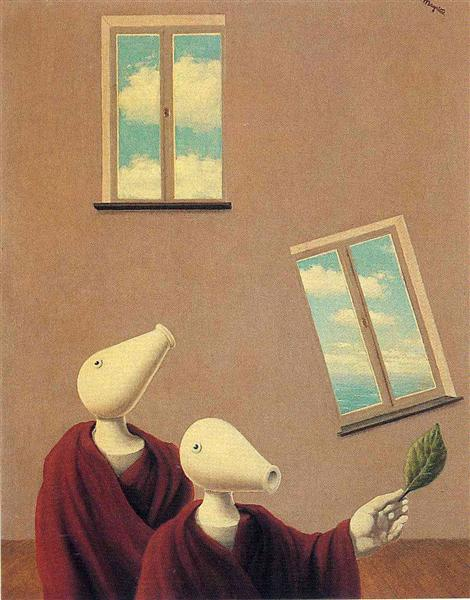 Natural encounters, 1945 - René Magritte