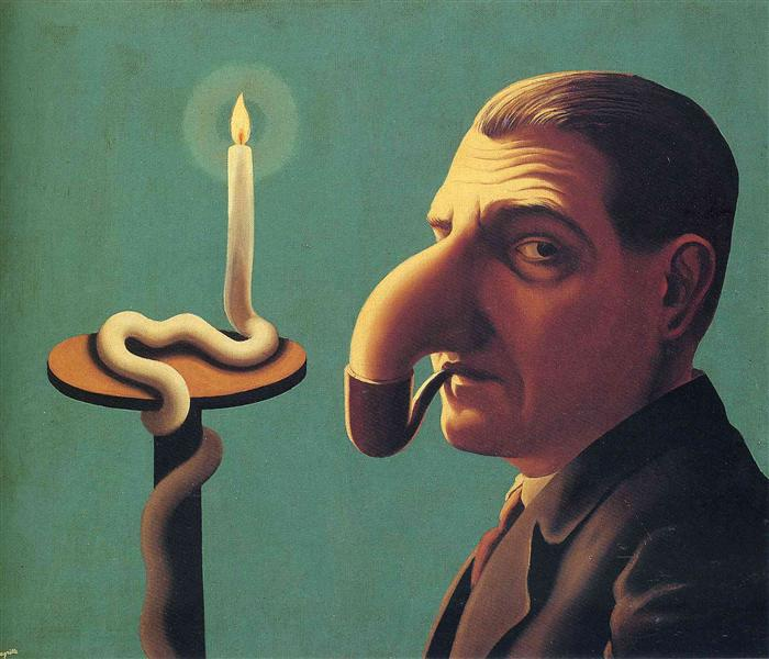 Philosopher's lamp, 1936 - Rene Magritte
