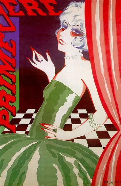 Primevera, 1926 - Rene Magritte