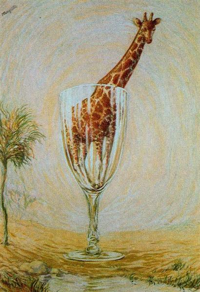 The cut-glass bath, 1946 - Rene Magritte