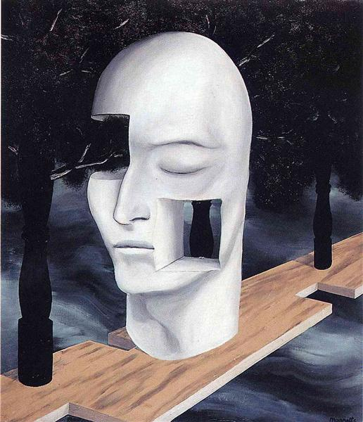 The face of genius, 1926 - Rene Magritte