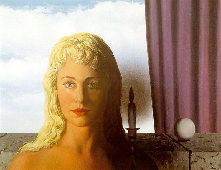The ignorant fairy, 1950 - Rene Magritte