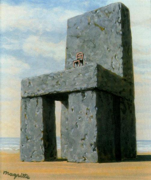 The legend of the centuries, 1950 - Rene Magritte