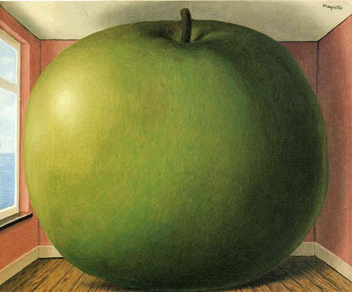 A Sala de Audição - René Magritte