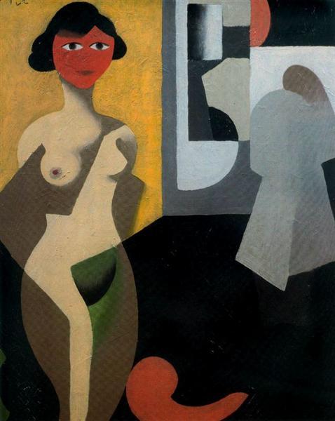 The model, 1922 - Rene Magritte