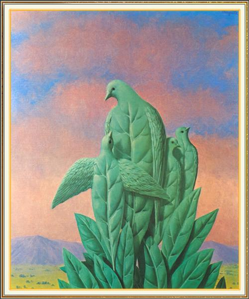 The natural graces, 1963 - Rene Magritte