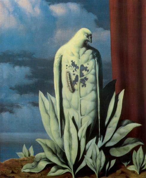 The taste of tears, 1946 - Rene Magritte