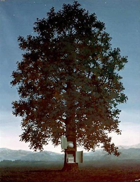 The voice of blood, 1959 - Rene Magritte