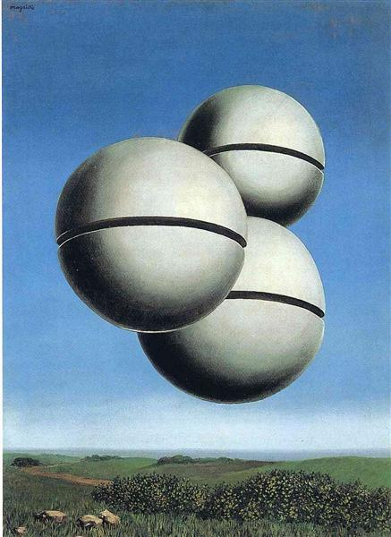 The voice of space - Magritte Rene