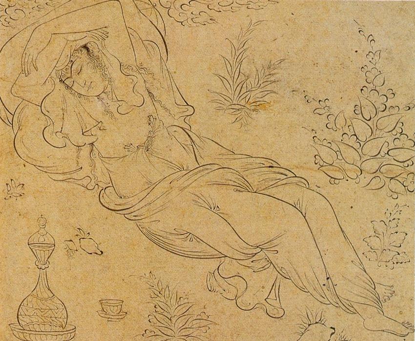 Reclining woman, 1595