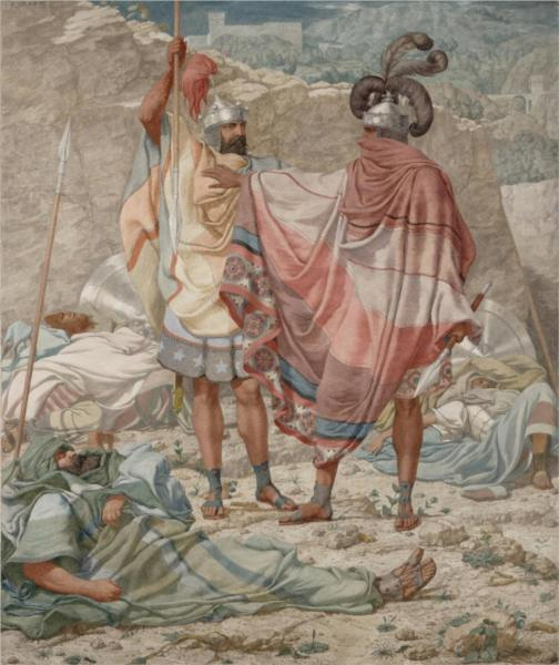 Mercy - David Spareth Saul's Life, 1854 - Richard Dadd