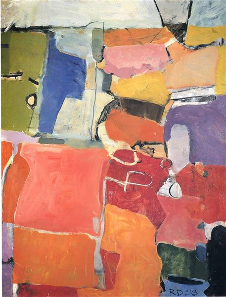 Urbana No. 62, 1953 - Richard Diebenkorn