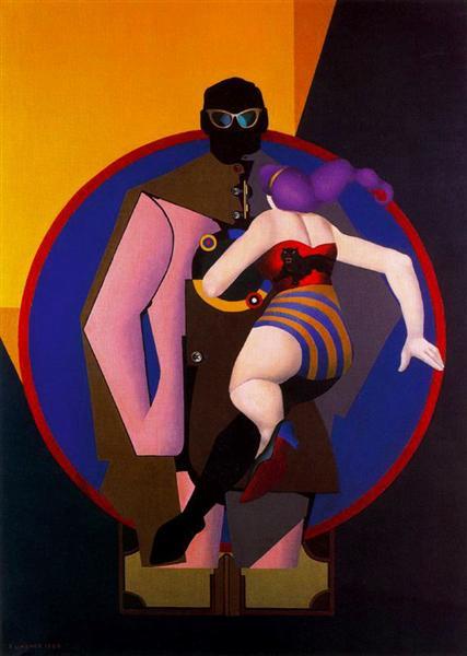 Coney Island II, 1964 - Richard Lindner