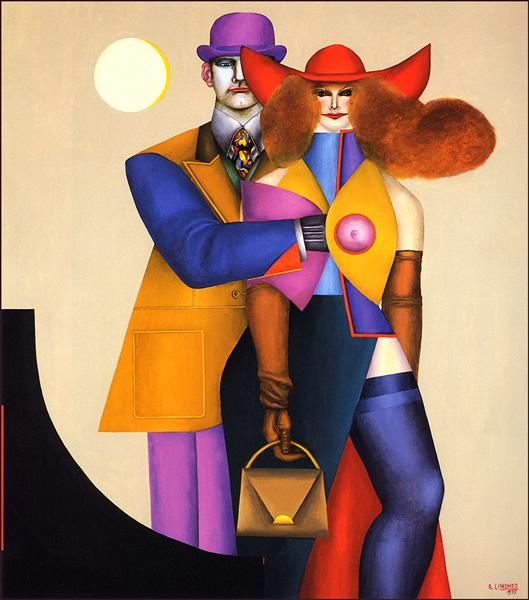 Couple - Richard Lindner