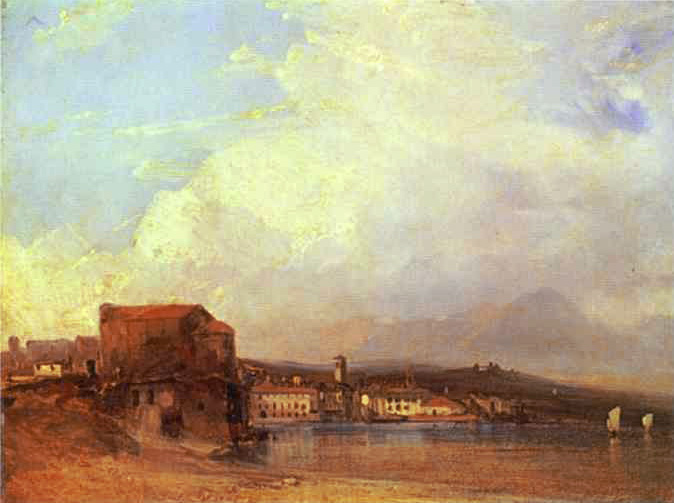 Lake Lugano, 1826 - Richard Parkes Bonington