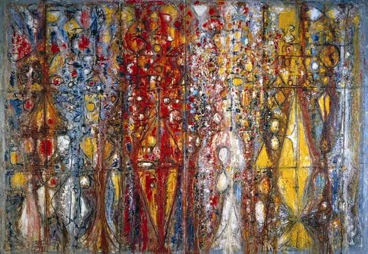 Blood Wedding, 1958 - Richard Pousette-Dart