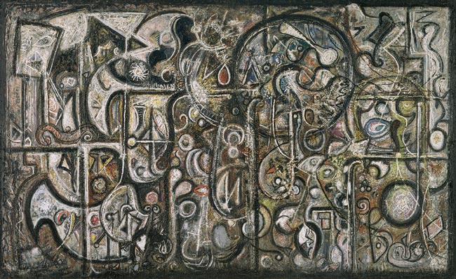 Symphony No. 1, The Transcendental - Richard Pousette-Dart