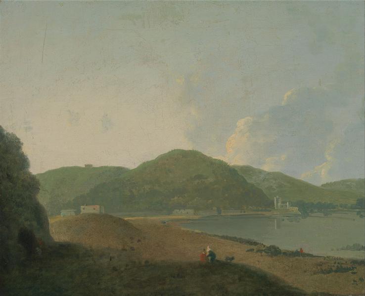 Lago d'Agnano with the Grotta del Cane, 1770 - Richard Wilson