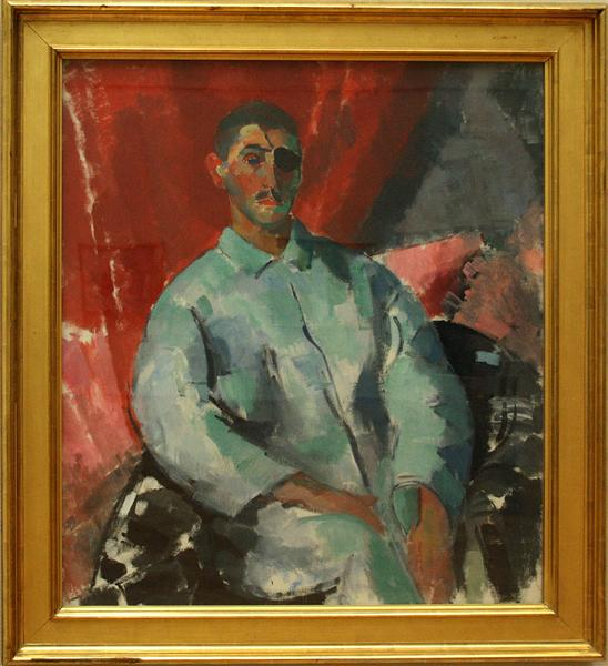 Self-portrait with Black Bandage, 1915 - Rik Wouters