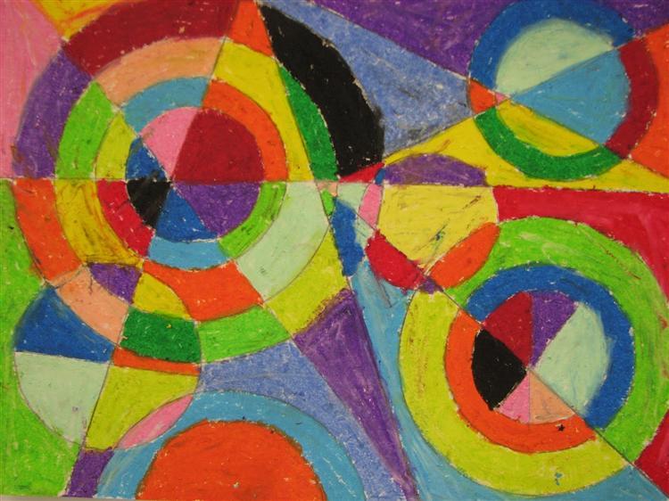 Color Explosion - Робер Делоне