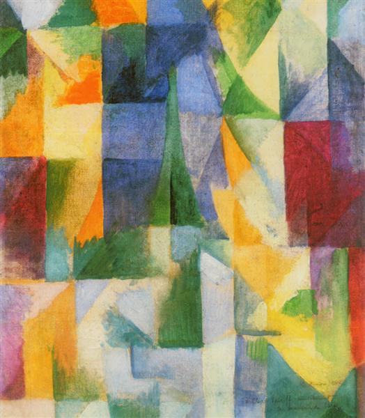 Window, 1912 - Robert Delaunay