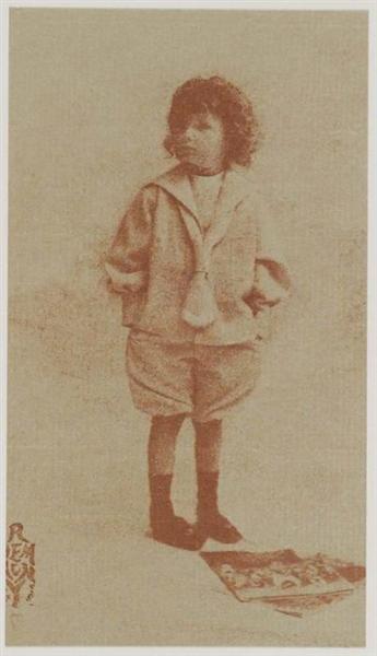 Jack, 8 Years Old - Robert Demachy